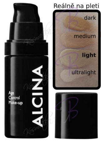 Alcina - Age Control Make-up light - Vyhlazující make-up 30 ml